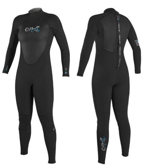 O'Neill Epic 4/3 Womens Back Zip Wetsuit 2020
