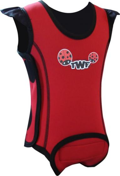 TWF Baby Wrap Wetsuit  -  Lady Bug Red 2017