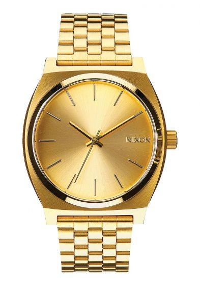 Nixon Mens Timer Teller Watch - Gold/Gold1