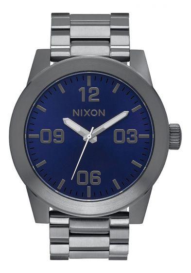 Nixon Mens Corporal SS Gunmetal/Cobalt Watch 2