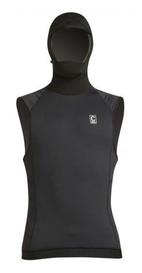 C skins skins sleeveless hooded thermal vest