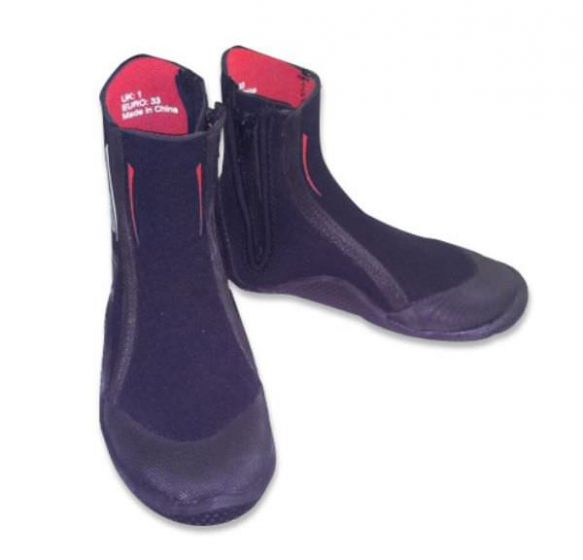 Sola 5mm Zip Up Wetsuit Boots 2017