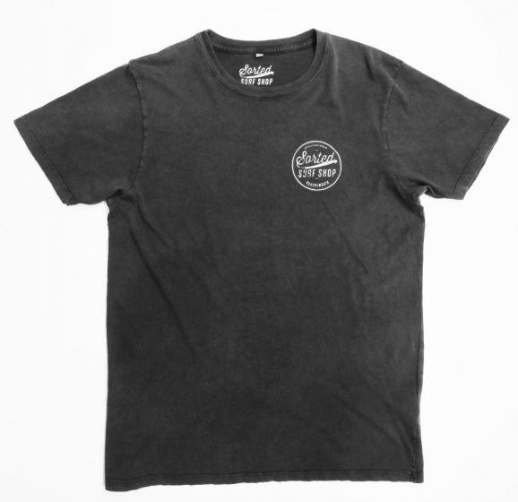 Sorted Surf Shop Circle T Shirt - Black