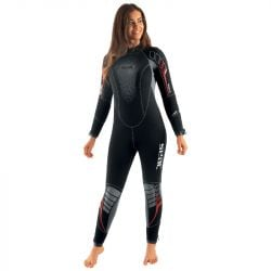 SEAC Komoda Flex7mm Womens Wetsuit 2021 - Black - Front