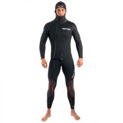 SEAC Privilege Flex 5mm Mens Two-Piece Wetsuit 2021 - Black - Front