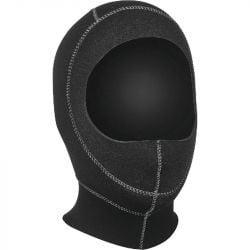 SEAC Standard 3mm Wetsuit Hood 2021 - Black - Front