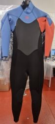 Rip Curl Omega 3/2mm Womens Back Zip Summer Wetsuit - Coral - Front