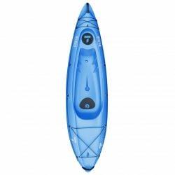 Tahe Bilbao Rigid Sports Kayak 2021 - Blue   - Front
