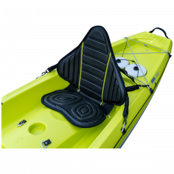 Tahe Kayak Ergo Backrest - Black/Yellow