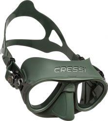 Cressi calibro dive mask green
