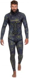 Cressi Lampuga Mens 2-Piece Spearfishing 5mm Wetsuit 2021 - Camo