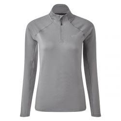 Gill Heybrook Womens Zip Top 2021 - Steel Grey
