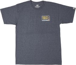 Salty Crew Point Loma T Shirt - Navy Heather