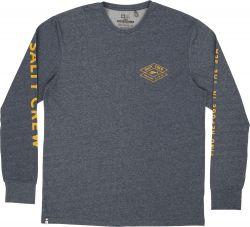 Salty Crew Tiller Tech T Shirt - Heather Navy
