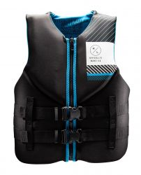 Hyperlite Men's Indy NEO Impact Vest Black/Blue - 2021 - Front