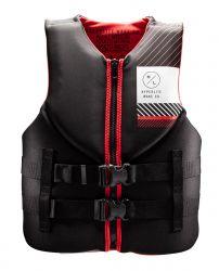 Hyperlite Men's Indy Neo Black/Red Impact CGA Vest - 2021 - Front