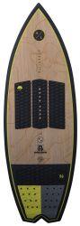 Hyperlite Automatic Wakesurf Board 2021 - Yellow - Front