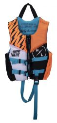 Hyperlite Boys Child Indy CGA NEO Impact Vest 2021 - Multi-colour - Front