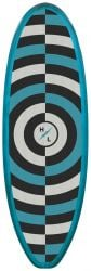 Hyperlite Droid Wakesurf 5'3 Board 2021 -  Blue - Front