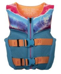 Hyperlite Girls Youth Indy CGA Neo Impact Vest  2021 - Small - Front