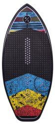 Hyperlite 3'9 Gromcast Wakesurf Board 2021 - Multi-Colour  - Top