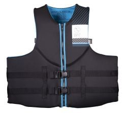 Hyperlite Men's Indy HRM Big and Tall Neo Impact Vest Black - 2021 - Front