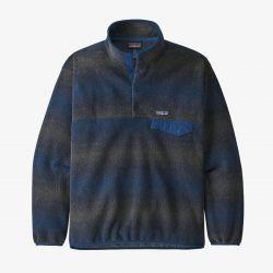 Patagonia Synchilla Snap-T Mens Fleece Pullover - Navy