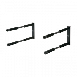Northcore Double Surfboard Rack 2021 - Black