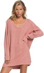 Roxy Women's Baby Crush Knit Jumper Dress in Rose