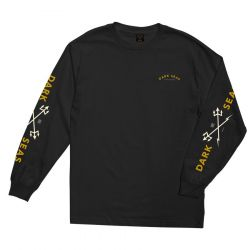 Dark Seas Headmaster Long Sleeve T Shirt - Black
