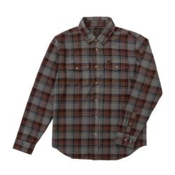 Dark Seas Awol Shirt - Grey/Brown