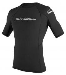 O'Neill Basic Skins S/S Crew Rash Vest Front