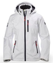 Helly Hansen Crew Hooded Midlayer Womens Jacket - White