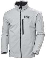 Helly Hansen Mens HP Racing Sailing Jacket 2021 - Grey Fog - Front