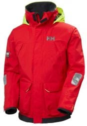 Helly Hansen Pier 3.0 Mens Sailing Jacket - Alert Red