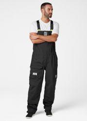 Helly Hansen Mens Sailing Pier Bib Trousers - Ebony