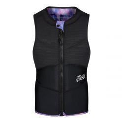 Mystic Diva Front Zip Womens Kite Impact Vest 2021 - Black