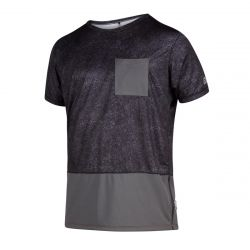 Mystic Shred Short Sleeve Quickdry T-Shirt - Phantom Grey