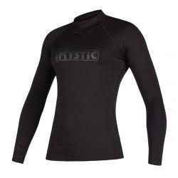 Mystic Star Womens Long Sleeve Rash Vest - Black