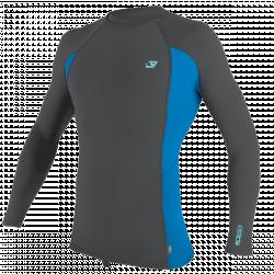 O'Neill Premium Skins Long Sleeve Mens Rash Vest 2021 - Smoke