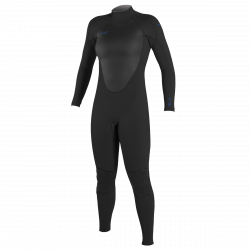 O'Neill Epic 3/2mm Back Zip Womens Wetsuit 2021 - Black