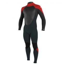O'Neill Epic 4/3mm Kids Back Zip Wetsuit 2021 - Gunmetal