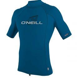 O'Neill Premium Skins Turtleneck Mens Rash Vest 2021 - Ultra Blue