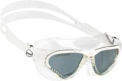 Cressi Cobra Dark Lens Swim Mask - White