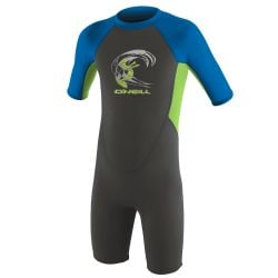 o'neill reactor 2 2mm back zip toddlers wetsuit