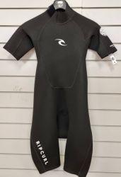 Rip Curl Freelite 2mm Mens Spring Shorty Wetsuit 2021 - Black