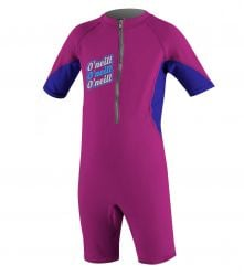 O'Neill Infant O'Zone UV Spring Suit - Fox Pink/ Cobalt