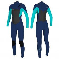 Women's chest zip epic 4/3 wetsuit
