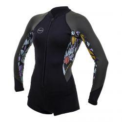 O'Neill Bahia 2/1 front zip women's wetsuit