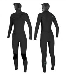 O'Neill Epic 6/5/4mm Hooded Chest Zip Women's Wetsuit
